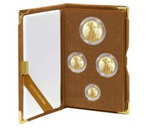 American Eagle 2015 Gold Proof Four-Coin  Set
