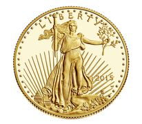 American Eagle 2015 One-Half Ounce Gold Proof Coin