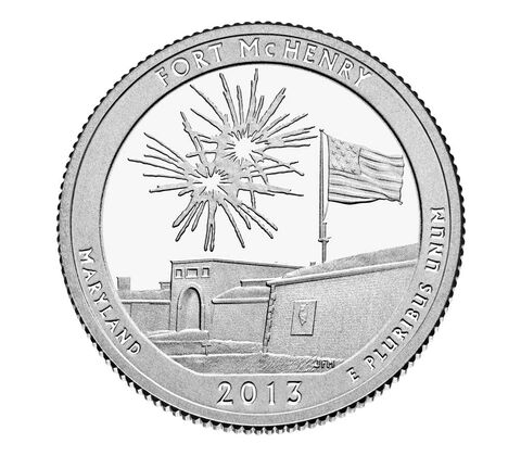 Fort McHenry National Monument and Historic Shrine 2013 Quarter, 3-Coin Set,  image 3