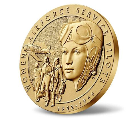 Women Airforce Service Pilots (WASP) Bronze Medal 3 Inch,  image 3