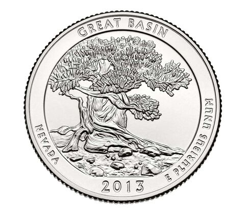 Great Basin National Park 2013 Quarter, 3-Coin Set,  image 4
