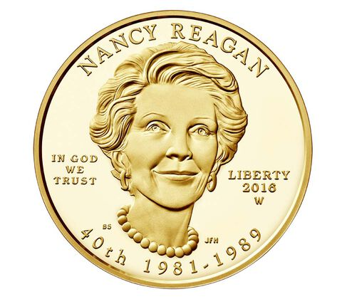 Nancy Reagan 2016 First Spouse Series One-Half Ounce Gold Proof Coin