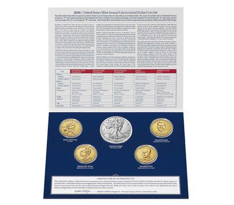 Annual Uncirculated Dollar Coin Set Enrollment,  image 2