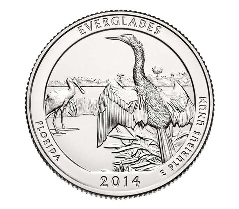 Everglades National Park 2014 Quarter, 3-Coin Set,  image 4