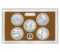 America the Beautiful Quarters 2015 Proof Set