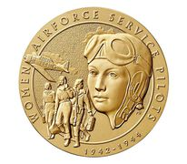 Women Airforce Service Pilots (WASP) Bronze Medal 3 Inch