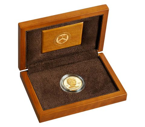 Lou Hoover 2014 First Spouse Series One-Half Ounce Gold Proof Coin,  image 3