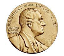 Franklin D. Roosevelt Bronze Medal 3 Inch