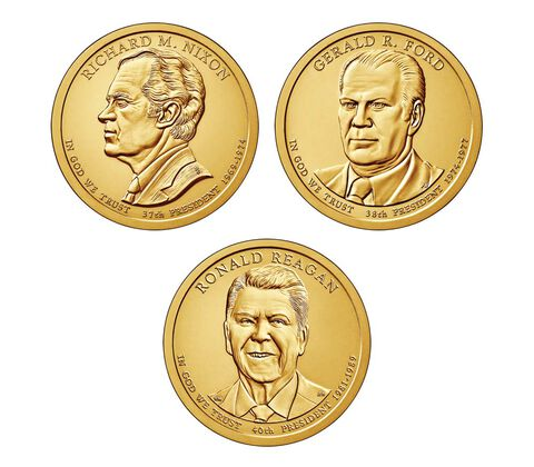 Presidential $1 Three-Coin Set Enrollment,  image 2