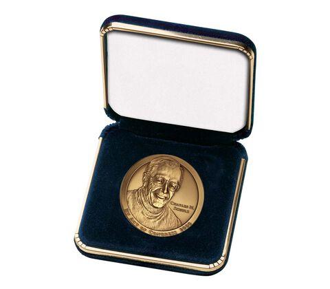 """Blue Presentation Case for 1.5"""" Medal"""
