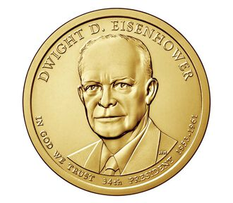 Dwight D. Eisenhower Presidential 2015 Rolls, Bags and Boxes