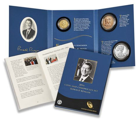 2016 Coin & Chronicles Set - Ronald Reagan