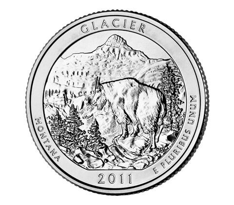 Glacier National Park 2011 Quarter, 3-Coin Set,  image 3