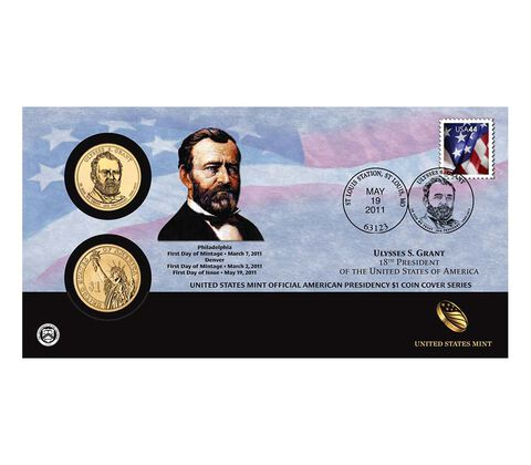 Ulysses S. Grant 2011 One Dollar Coin Cover