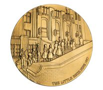 Little Rock Nine Bronze Medal 3 Inch