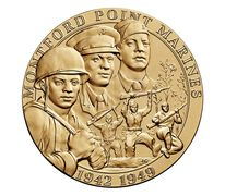 Montford Point Marines Bronze Medal 3 Inch