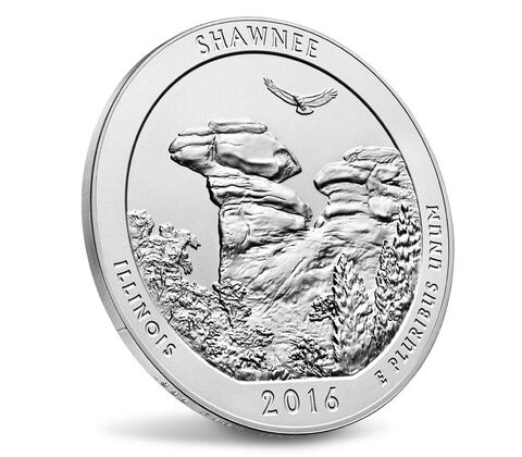 America the Beautiful Uncirculated Five Ounce Silver Coin Enrollment,  image 3