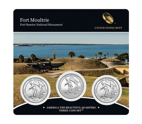 America the Beautiful Quarters 3-Coin Set Enrollment
