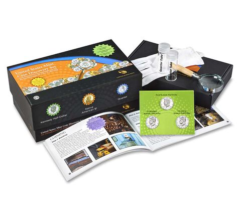 Coin Discovery Set — An Introduction to Coin Collecting