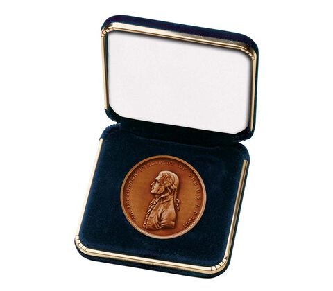 "Blue Presentation Case for 1 5/16"" Medal"