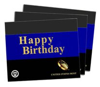 Happy Birthday Gift Sleeves, Three-Lens Three-Pack