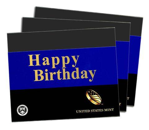 Happy Birthday Gift Sleeves, Three-Lens Three-Pack