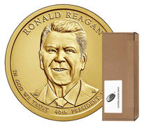 Presidential $1 Coin 250-Coin Box Enrollment