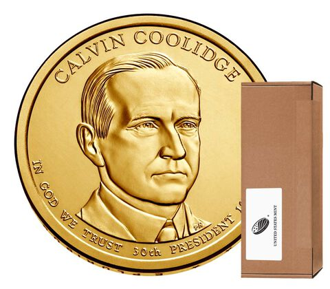 Calvin Coolidge Presidential 2014 Rolls, Bags and Boxes