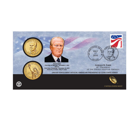 Official American Presidency $1 Coin Cover Enrollment,  image 1
