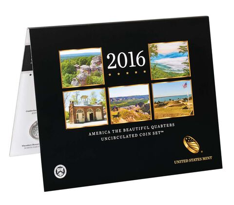 America the Beautiful Quarters Uncirculated Coin Set Enrollment,  image 2