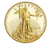 American Eagle 2015 One-Tenth Ounce Gold Proof Coin