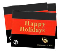 Happy Holidays Gift Sleeves, Three-Lens Three-Pack