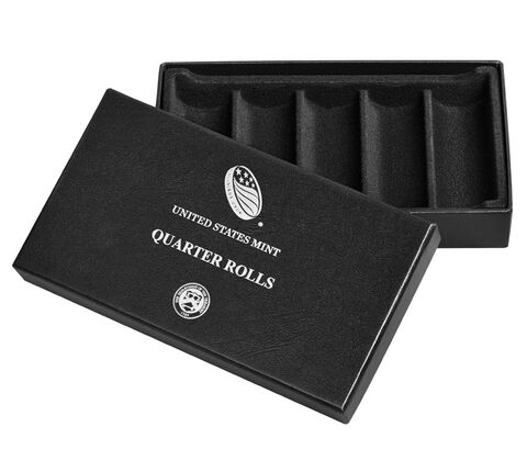 Quarter Rolls Collector's Box