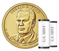 Presidential $1 Coin Two-Roll Set Enrollment