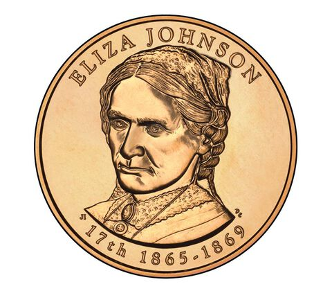 Eliza Johnson 2011 Bronze Medal 1 5/16 Inch