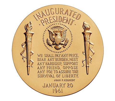 John F. Kennedy Bronze Medal 3 Inch,  image 2