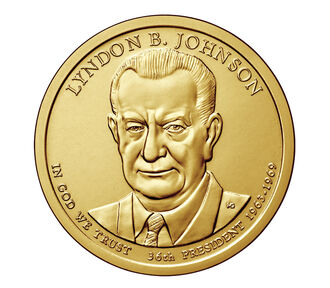 Lyndon B. Johnson Presidential 2015 Rolls, Bags and Boxes