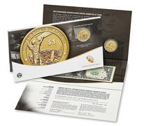 American $1 Coin and Currency Set 2015