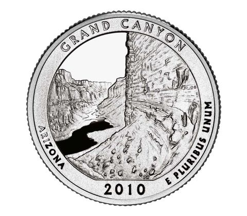 Grand Canyon National Park 2010 Quarter, 3-Coin Set,  image 2