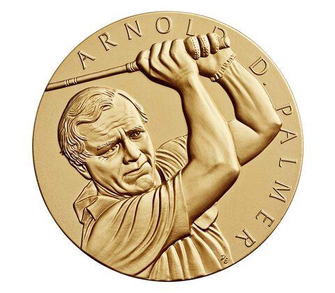 Arnold Palmer Bronze Medal 3 Inch