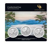 Cumberland Gap National Historical Park 2016 Quarter, 3-Coin Set