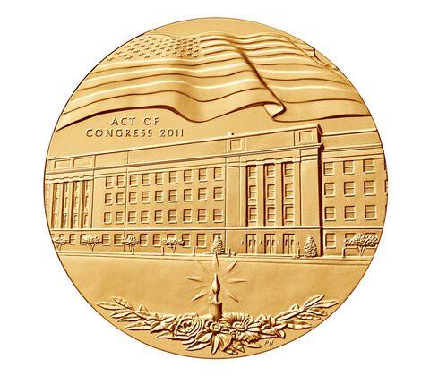 Fallen Heroes of VA Bronze Medal 3 Inch