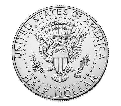 Kennedy 2016 Half Dollar, 2-Roll Set,  image 2