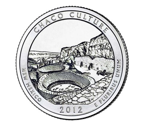 Chaco Culture National Historical Park 2012 Quarter, 3-Coin Set,  image 3