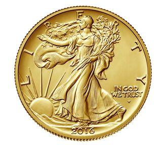 Walking Liberty 2016 Centennial Gold Coin
