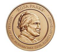Rosa Parks Bronze Medal 1.5 Inch