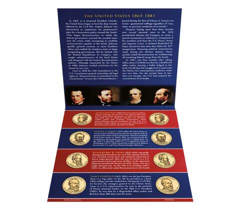 Presidential 2011 One Dollar Coin Uncirculated Set