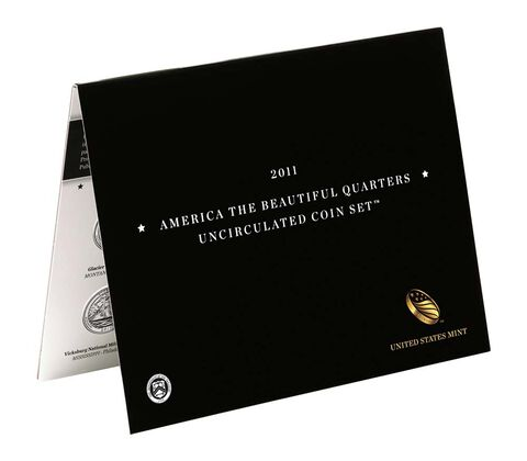 America the Beautiful Quarters 2011 Uncirculated Coin Set,  image 2