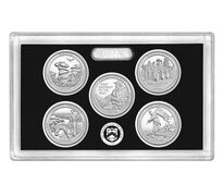 America the Beautiful Quarters 2016 Silver Proof Set