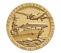 Doolittle Tokyo Raiders Bronze Medal 1.5 Inch